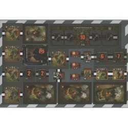 Heroes of Normandie Vehicles Punch Board