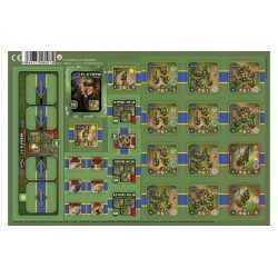 Heroes of Normandie US Rangers Punch Board