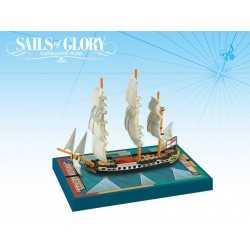 HMS Sybille 1794 British Frigate Sails of Glory