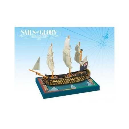 HMS Royal Sovereign 1786 British SotL Sails of Glory