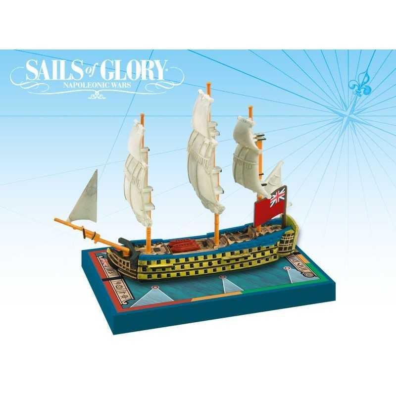 HMS Royal George 1788 British SotL Sails of Glory