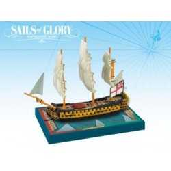 HMS Queen Charlotte 1790 British SotL Sails of Glory
