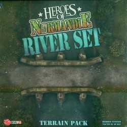 Heroes of Normandie River Terrain set