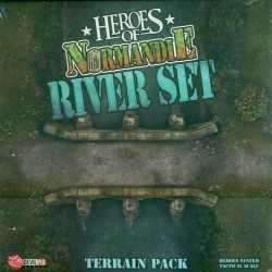 Heroes of Normandie River Terrain set