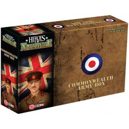 Heroes of Normandie Commonwealth Army Box