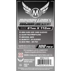 61 x 112mm fundas Magnum Platinum Dwarf King
