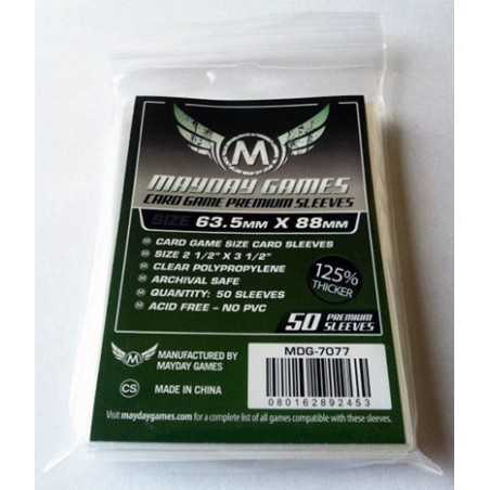 63.5 x88 mm MAYDAY PREMIUM Standard Size Card Sleeves