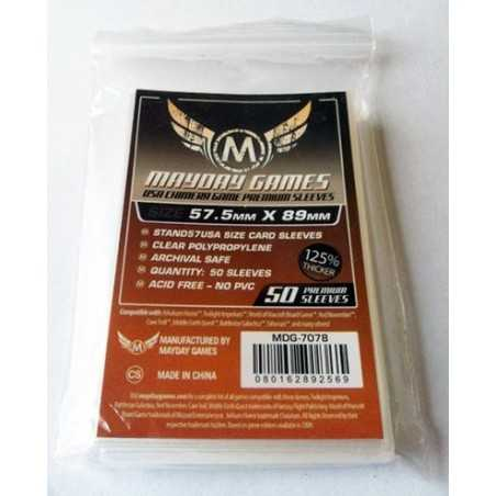 57.5 X 89 mm Premium Mayday USA Chimera Game Sleeves