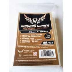 Fundas PREMIUM MAYDAY para 7 Wonders Magnum Copper  65 MM X 100
