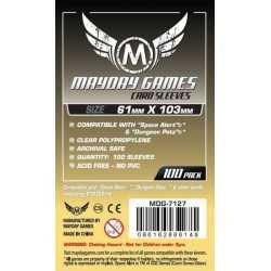 61 X 103 MM Magnum  Space Alert Dungeon Petz Sized Card Sleeves