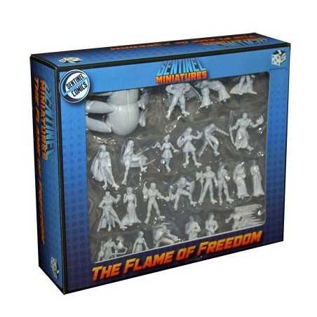 Sentinel Miniatures: The Flame of Freedom