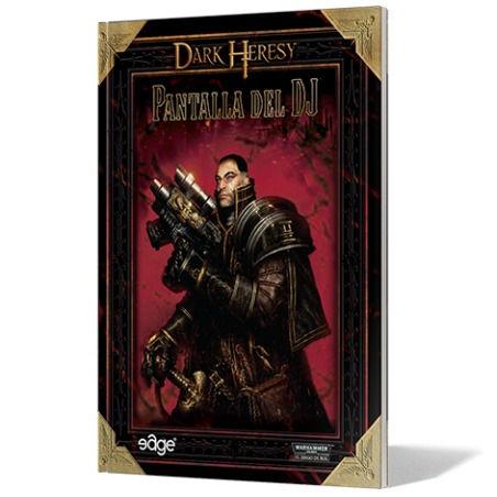 Dark Heresy Pantalla y Manual de referencia del DJ