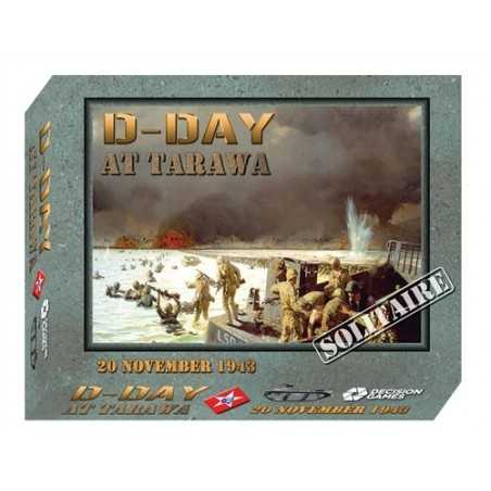 D-Day at Tarawa Mounted Map edition