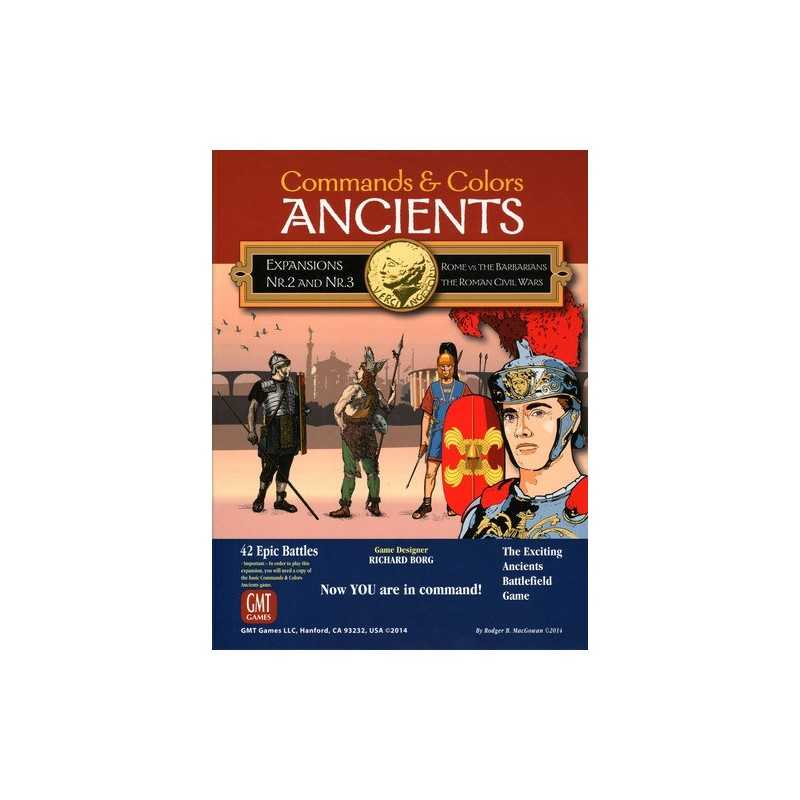 Commands & Colors: Ancients Expansions 2 and 3