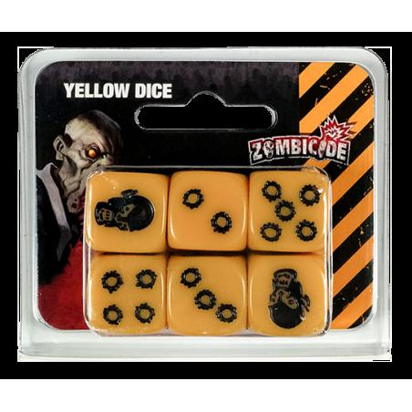 Zombicide dados amarillos