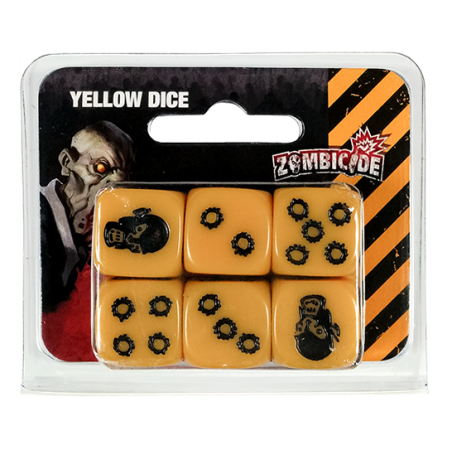 Zombicide yellow dice