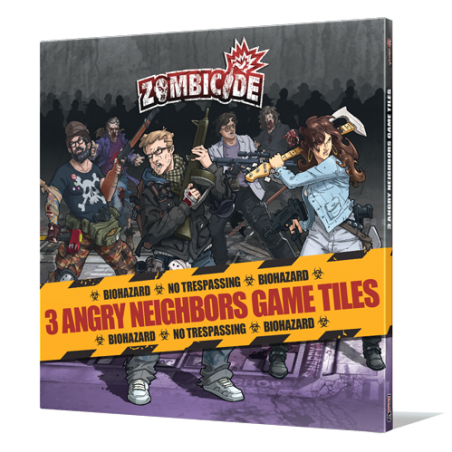 Zombicide Angry Neighbors Tile set