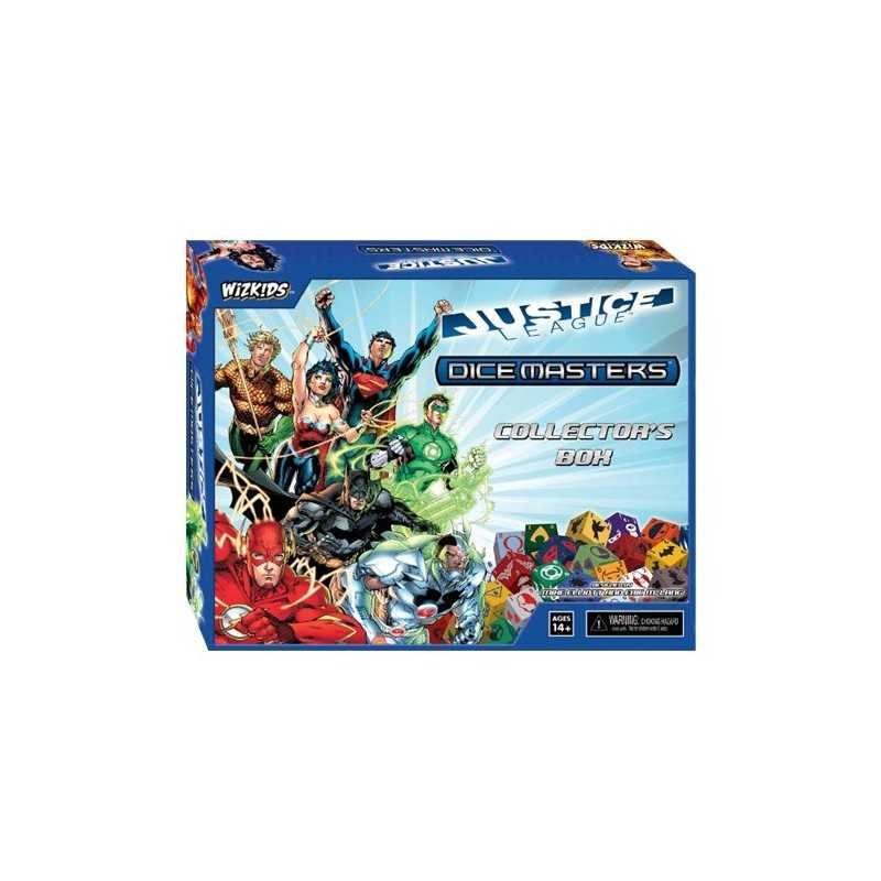 DC Dice Masters Justice League Collector's Box
