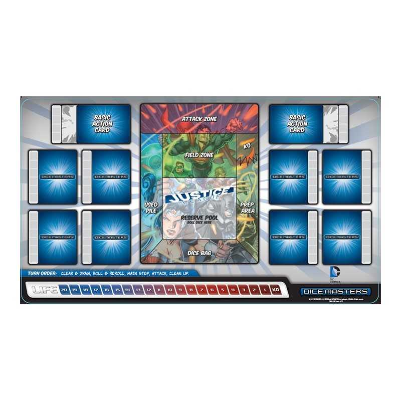 Playmat for DC Comics Dice Masters