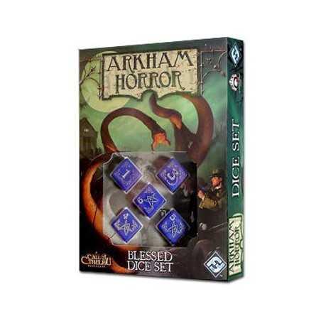 Arkham Horror Blessed Dice Set
