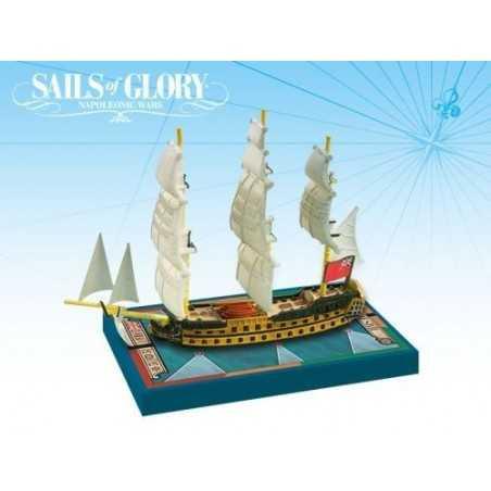 HMS Zealous 1785 Sails of Glory