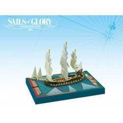 HMS Orpheus 1780 Sails of Glory