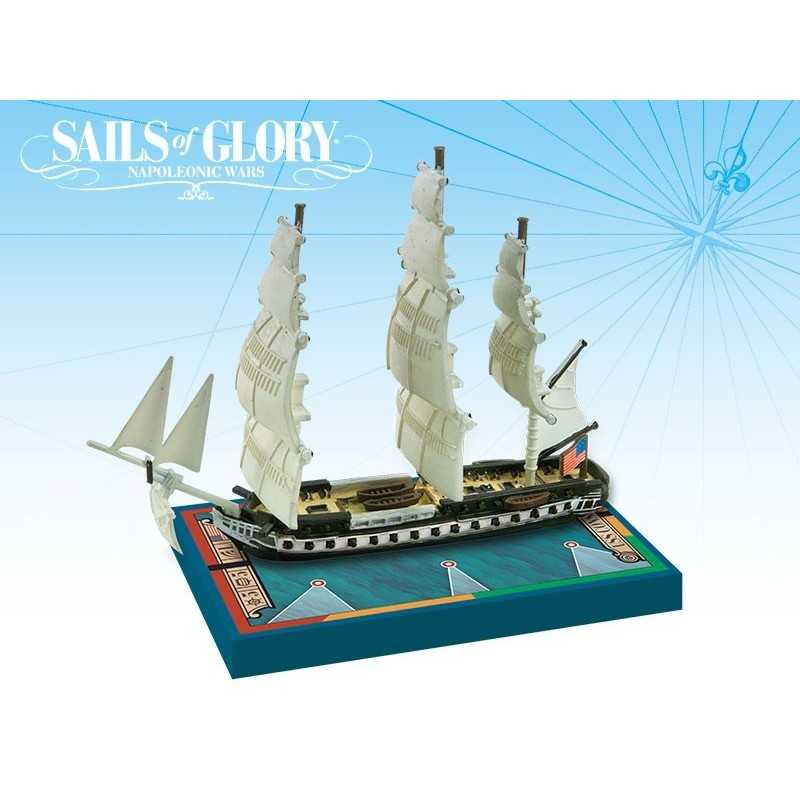Barco Especial USS Constitution 1797 Sails of Glory