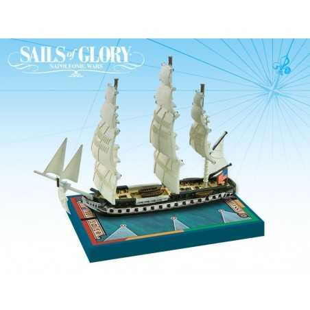 Special Ship USS Constitution 1797 Sails of Glory