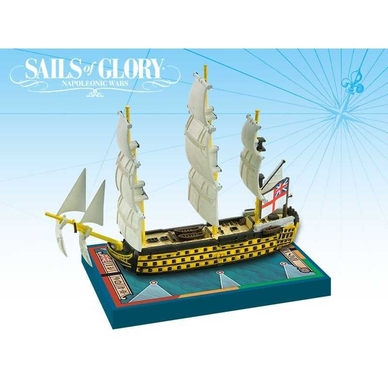 Barco Especial HMS Victory 1765 Sails of Glory