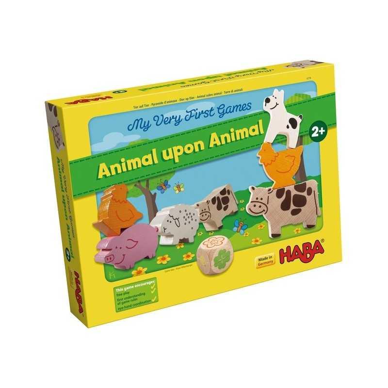 Mis primeros juegos Animal sobre animal