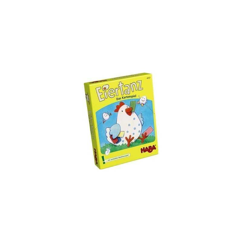 La danza del huevo el Juego de cartas