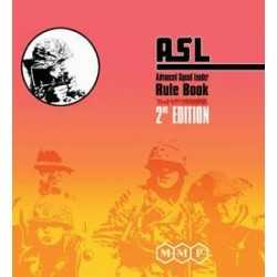 Advanced Squad Leader Rulebook 2nd edition