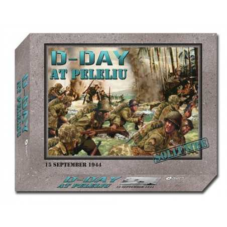 D-Day at Peleliu Mounted Map edition