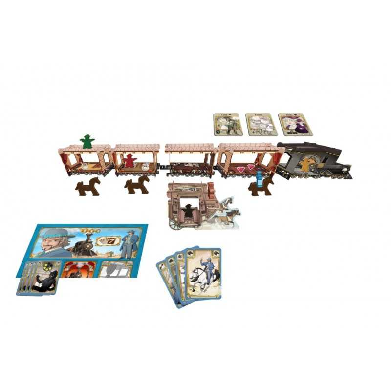 Colt Express Expansion (English) Horses & Stagecoach
