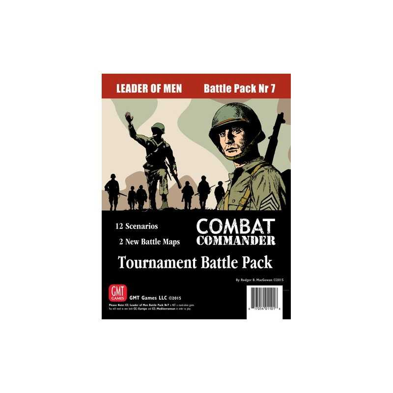 Combat Commander: Leader of Men Tourney Battle Pack 7