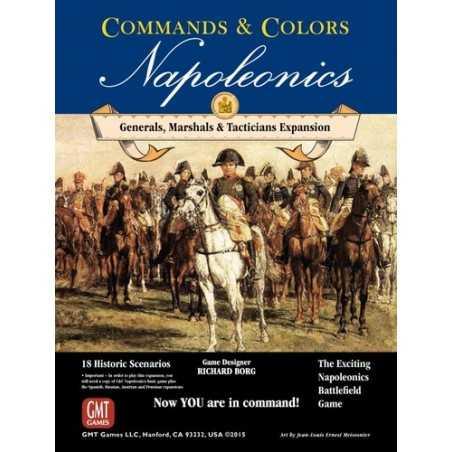 Generals, Marshals, Tacticians Commands & Colors: Napoleonics Expansion 5