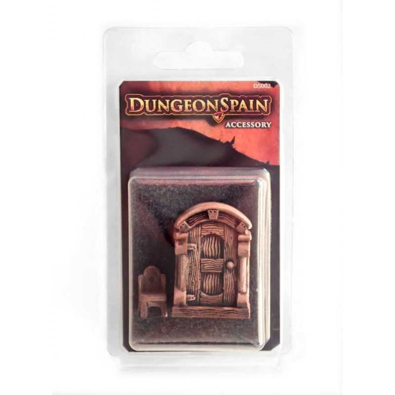 Pack accesorios 1: Armario y silla Dungeon Spain