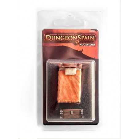 Dungeon Spain Pack accesorios 2: Cama y arcón