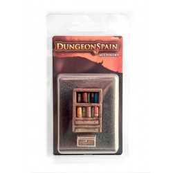 Dungeon Spain Pack accesorios 3: Librería y baúl