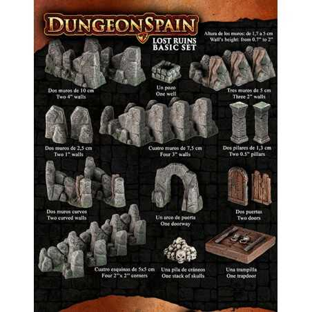 Dungeon Spain Lost Ruins basic set