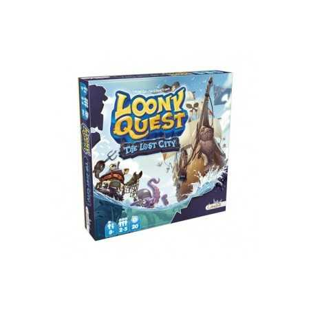 Loony Quest The Lost City Expansión