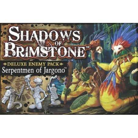 Serpentmen of Jargono Shadows of Brimstone expansion