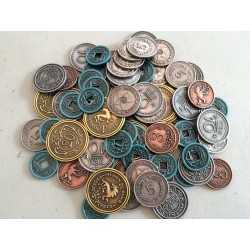 Monedas de metal Scythe