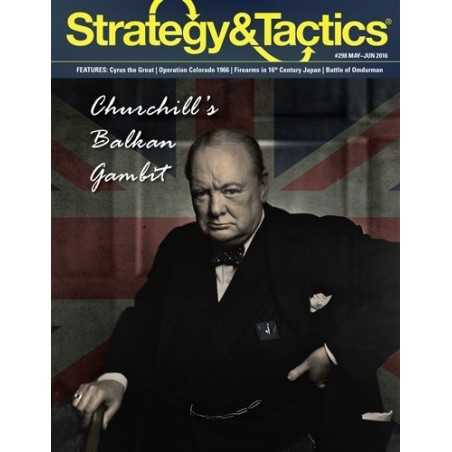 Strategy & Tactics 298 Balkan Gambit
