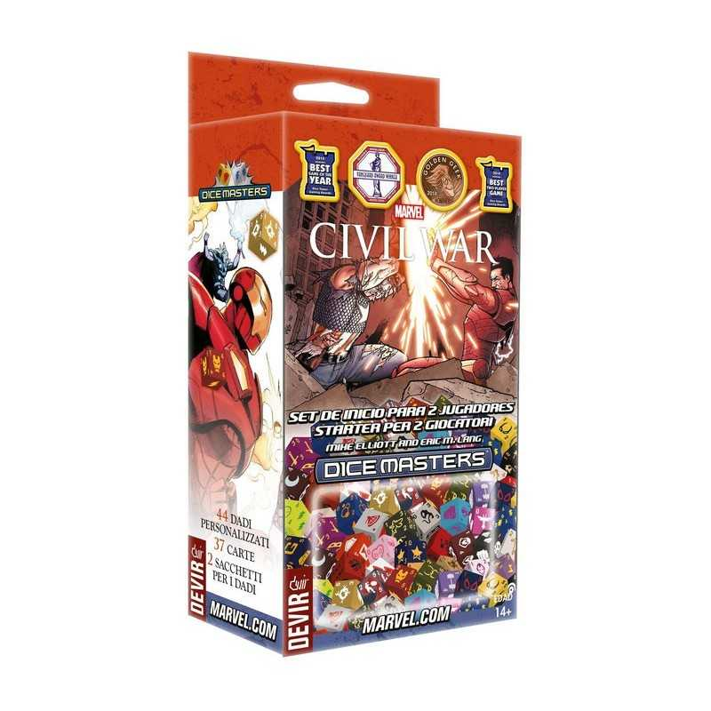 Marvel Dice Masters: Civil War set de inicio para 2 jugadores