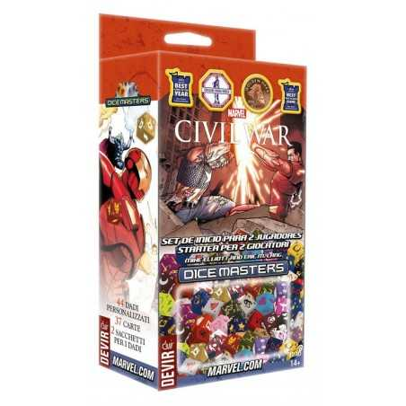 Marvel Dice Masters: Civil War set de inicio para 2 jugadores