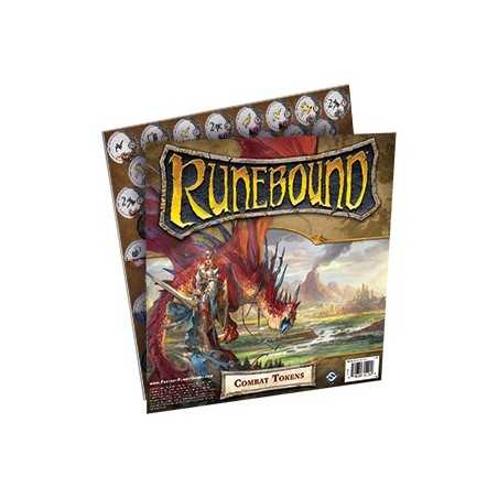 Runebound 3rd Edition Combat Tokens
