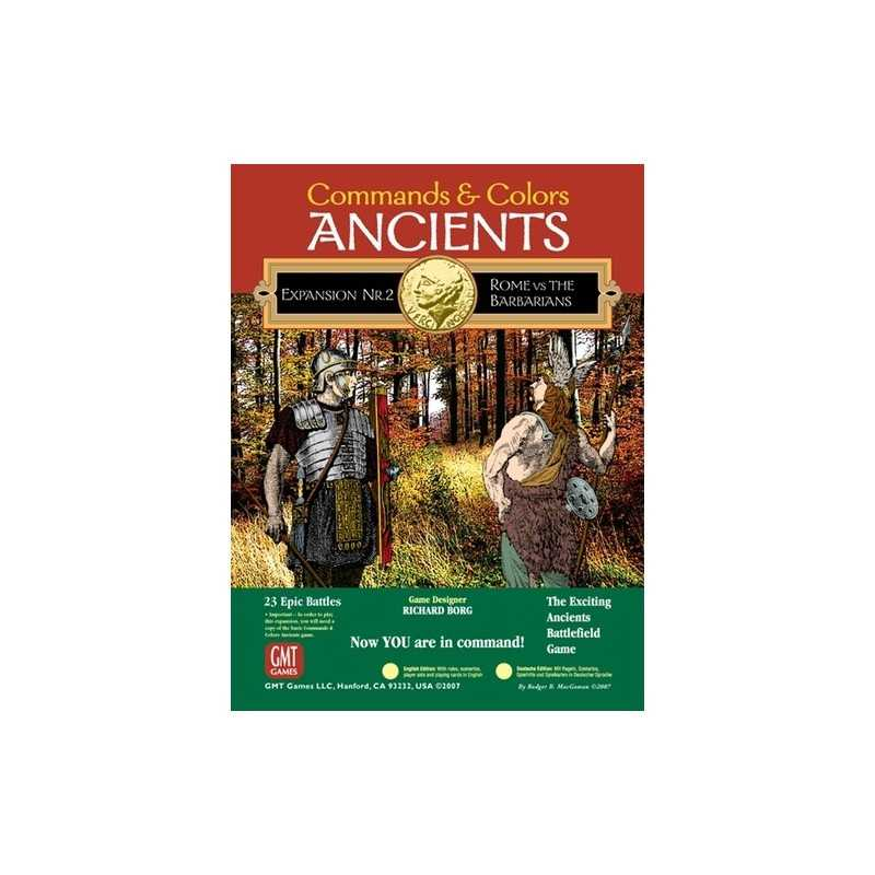 Commands & Colors Ancients Expansion 2 Rome and the Barbarians