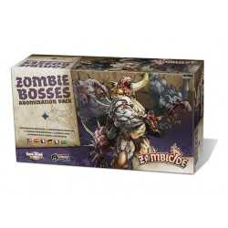 Zombie Bosses Abomination Pack Zombicide Black Plague