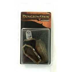 Dungeon Spain Pack de accesorios 8: Ataúd y lápida